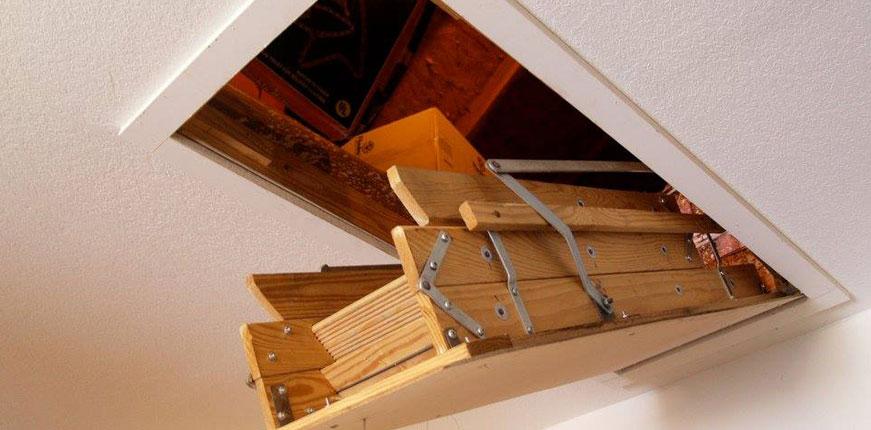 Attic ladders